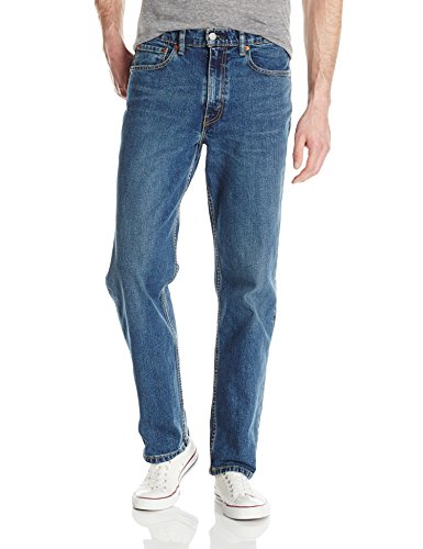 Levi's Men's 550 Relaxed Fit Jean, Rooster-Stretch, 34 34