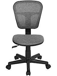 ergonomical midback computer desk chair for kids teens gaming studying grey - Desk Chairs For Teens