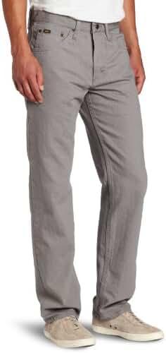 Lee Men's Regular Fit Straight Leg Jeans - Battleship