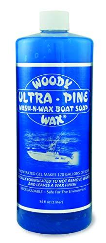 2000 Wax (Woody Wax BOAT SOAP ULTRA PINE 34 OZ)