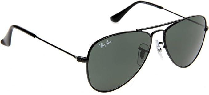 7748a83773e1d3 Ray-Ban Aviator Junior Kids Sunglasses (0RJ9506S 46 Green)  Amazon ...