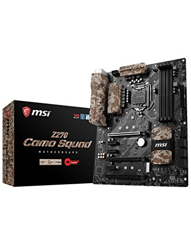 MSI Z270 Camo Squad Cartes mères Intel ATX
