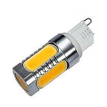 ZQ Modern LED corn light 1 pcs G9 10 W 5 COB 900 LM Warm White / Cool White LED Corn Bulbs AC 220-240 V , cool white