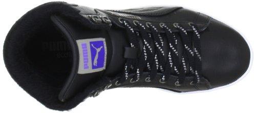 Puma primera ronda acondicionadas para el invierno wms zapatillas deportivas 354931 para mujer Schwarz (black-white-spectrum blue 02) (Schwarz (black-white-spectrum blue 02))