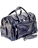 Timmari Italian Leather Duffel Bag -Willow Collection
