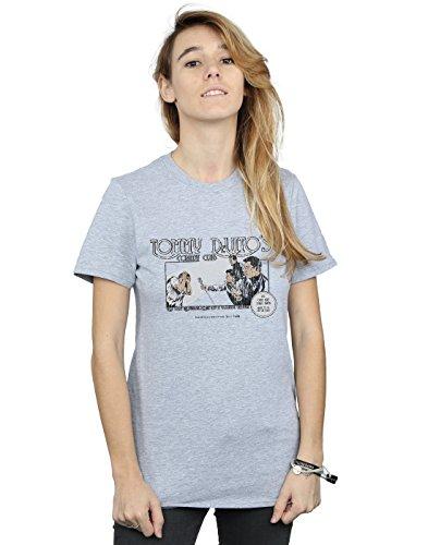 Tommy Cult Fit Novio Deporte Del Mujer Alex Camiseta Devito Chenery Gris Absolute wBIARqgw
