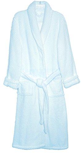 La Cera Women's Fleece Robe Plus Size