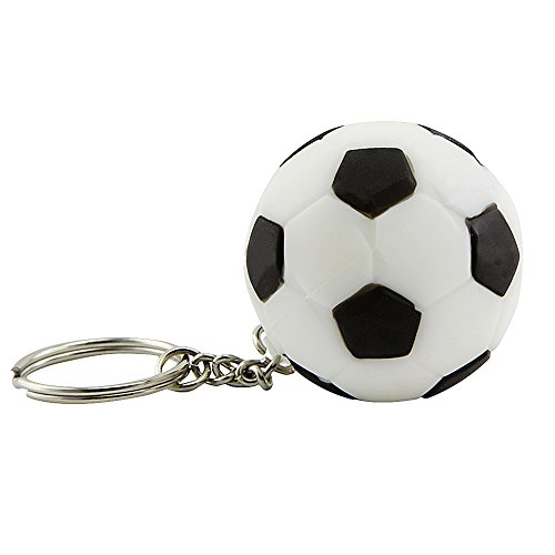 Usbkingdom 32GB USB 2.0 Flash Drive Keychain Sport Ball Soccer Football Shape Memory Stick Thumb Drive Pendrive