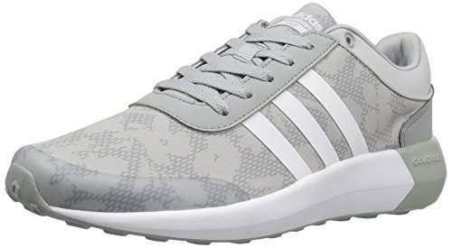 Adidas Women's Cloudfoam Race Running Shoe Clear Onix/White/White cheap price top quality from china online recommend cheap price qGATkiRog