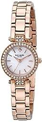 kate spade new york Women's 1YRU0724 Tiny Gramercy Rose Gold-Tone Watch