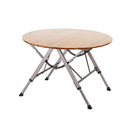 Bamboo One Action Round Table M by Kovea