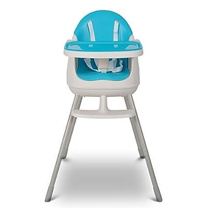 Keter - Silla para comer de bebé, de color azul: Amazon.es: Bebé