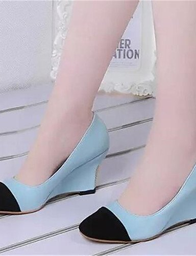 Zapatos Mujer tacones 5 Beige Vestido Trabajo Uk6 De as Y Cn40 5 us8 tac¨®n Beige Rojo azul sint¨¦tico oficina us8 Red a Cu Zq 5 cu Eu39 d8BxwqEdS
