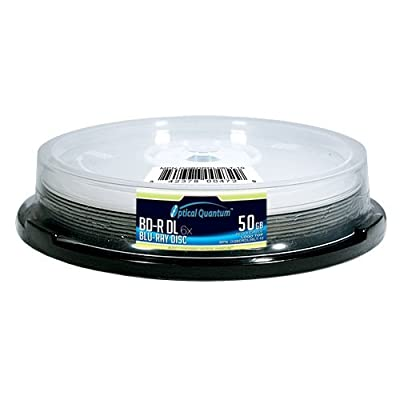 Blu-Ray Double Layer Recordable Logo Top 10-Disc Spindle by VINPA