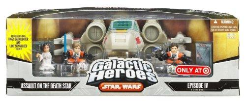 (Star Wars Galactic Heroes Cinema Scene - Assault on the Death Star)