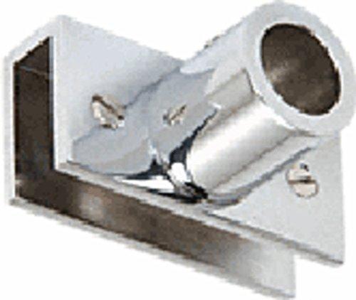 Chrome Adjustable Glass Mount Fitting