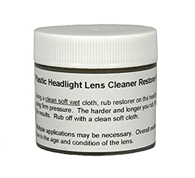 Upper Bound Plastic Headlight Lens Cleaner Restorer and Repair Polish Restores Yellowed Hazy Vehicle Headlights Removes Discoloration & Scratches