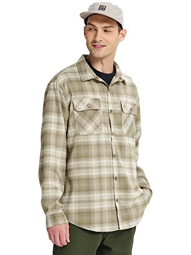- Burton Men's Brighton Tech Flannel (Hawk Lahombre, X-Large)