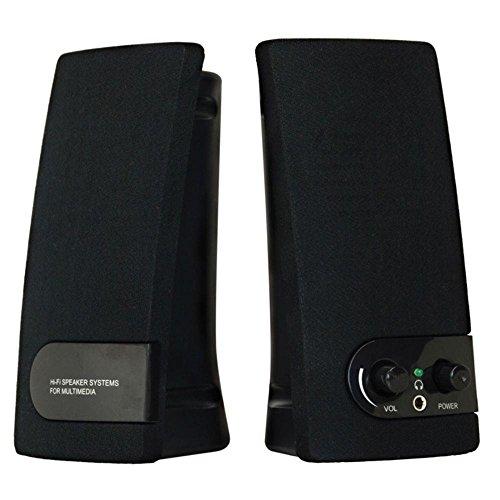 Caixa Multimidia 2.0 USB 1,5W RMS SP201 Preto Coletek