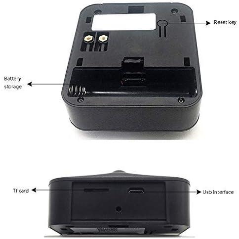 M8ドアベル、スマートWIFIビデオインターホンWI-FIドアホンベルカメラ、アパートメントアラームワイヤレスセキュリティカメラ720P