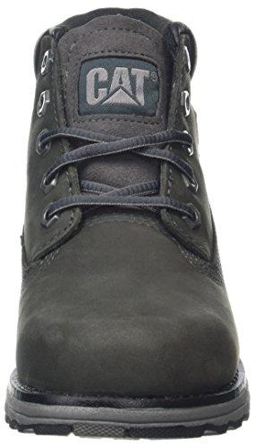 Caterpillar Unisex-Kinder Founder Chukka Boots Grau (Kids Dark Cloud)