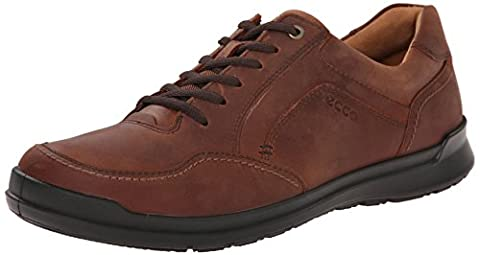 ECCO Men's Howell Tie Oxford, Cognac, 43 EU/9-9.5 M