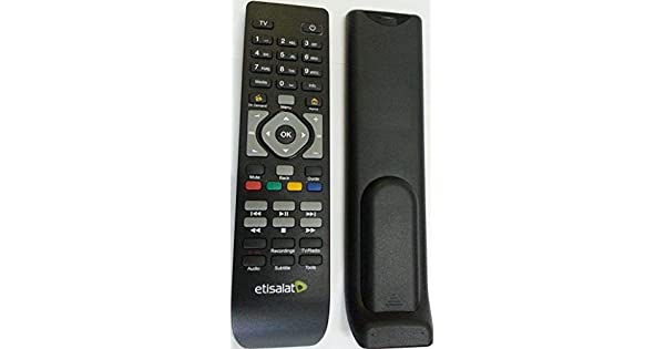 Compatible elife etisalat Remote control for Receiver