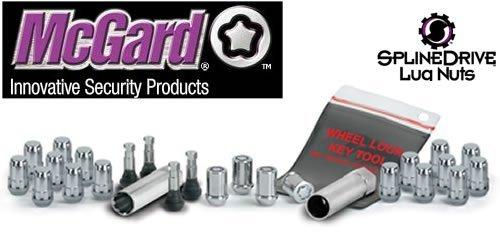 (McGard Mack guard spline drive installation kit chrome M12X1.5 for 20 holes [parallel import])