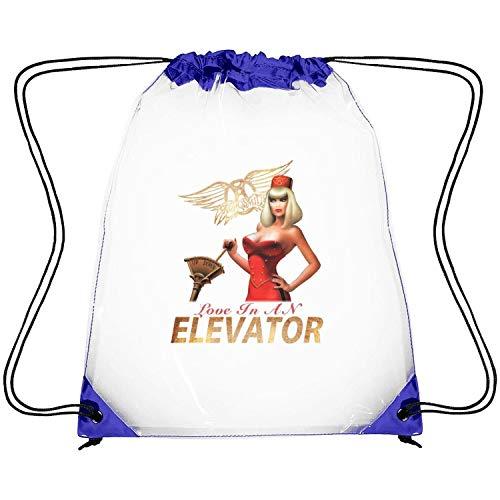 SEeRRroO Clear Drawstring Backpack Rock Band Member Poster Printing Sports Sack Pack Dancing Bag for Men Women
