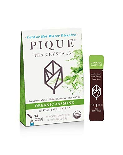 Pique Tea, Tea Crystals Jasmine Organic, 14 Count