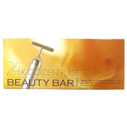 Beauty Bar 24K Golden for Skin Care Serial Number Genuine Japan
