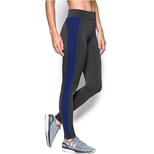 Womens Fusion (Under Armour Women's ColdGear Legging, Carbon Heather/Grape Fusion, Medium)