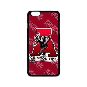 Generic Custom Extraordinary Best Design NCAA Alabama Crimson Tide Team Logo Plastic Case Cover for 6