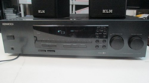 Kenwood AM-FM Stereo Receiver Model KR-A5080 w Phono Preamp 100 Watts Per Channel - Kenwood Home Receivers