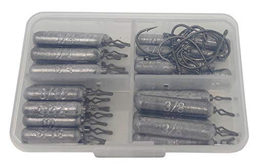 Reaction Tackle Bulk- Skinny Lead Drop Shot Weights and Sinkers