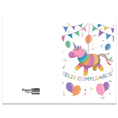 Amazon.com: Pinata Feliz Cumpleanos Birthday Card in Spanish ...