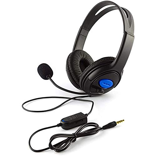 Gaming Headset with Microphone, 3.5mm Wired Over-head Stereo Gaming Headset Headphone with mic for Xbox One, PS5, PS4…