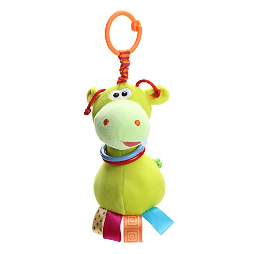 GreenSun TM Cute Animal Plush Handbell Teether Baby Rattle Toy Baby Infant Bed Stroller Hanging Grinding Teeth Rattle Doll Toys
