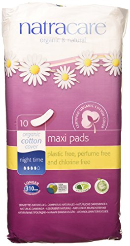 Pads, Night-Time/Overnight 10 ct, 3 Pack (30 Pads) by NATRACARE