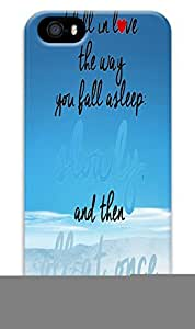 Online Designs fault in our stars blue sky and water PC Hard new iphone 5 cases for guys wangjiang maoyi