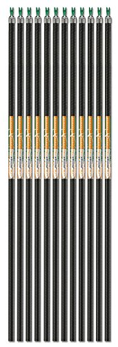 (Carbon Express LineJammer Pro, Diamond Weave Carbon Arrow Shaft (Designed for ASA and IBO), 12-Pack)