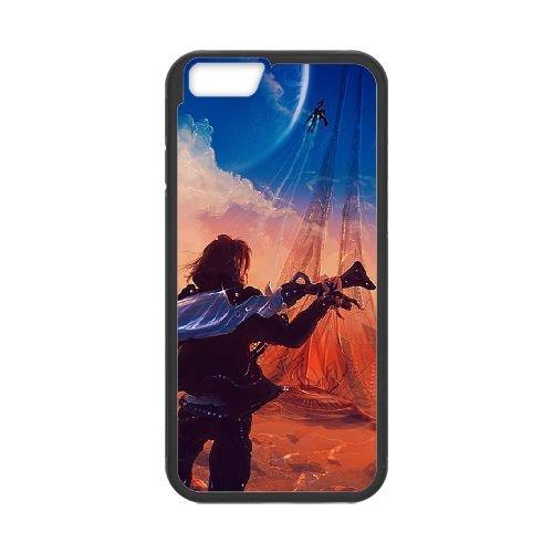 Final Fantasy 004 coque iPhone 6 Plus 5.5 Inch Housse téléphone Noir de couverture de cas coque EOKXLLNCD11294