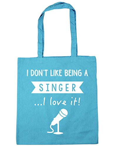 Love HippoWarehouse 42cm x38cm A Tote Being Singer Beach 10 Don't It I Shopping Blue I Like Surf Bag litres Gym 6B0qCtrxw6