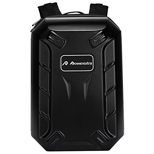 Powerextra-Hardshell-Protective-Waterproof-Carrying-Bag-Cases-Traveling-Backpack-for-DJI-Phantom-4-3-Professional-Advanced-Standard-4K-Quadcopter-Drone-and-Accessories