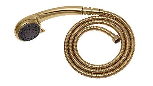 - Adjustable Gold Hand Held Shower Unit