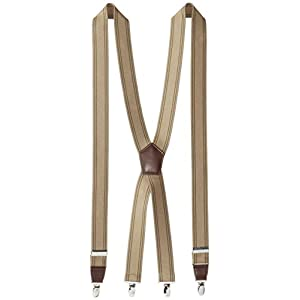 Dockers Men's Docker's 1 1/4 Inch Suspenders