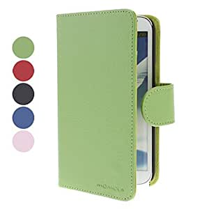 Buy Elegant Design PU Leather Full Body Case with Card Slot for Samsung Galaxy Note 2 N7100 (Assorted Colors) , Pink
