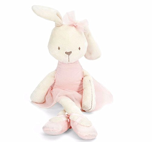 1pc 45cm Cute Rabbit with Pink Dress Baby Plush Toy Soft Ballet Bunny Rabbit Doll Kids Comfort Doll Best Gift for (Danny Sandy Costumes)