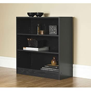 Amazon Com Sauder 414237 Select 2 Shelf Bookcase Estate