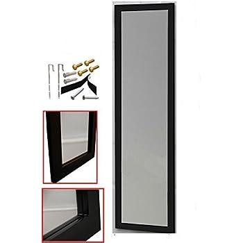 "Amazon.com: Homeco Design Over the Door Mirror/Wall Mirror (14"" x 48 ..."